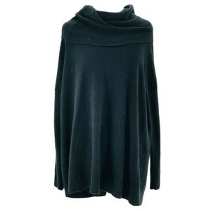 Joie Women's Black Melantha Cowl Neck Sweater